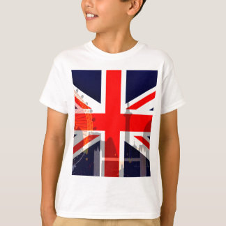 London-British Flag_ T-Shirt