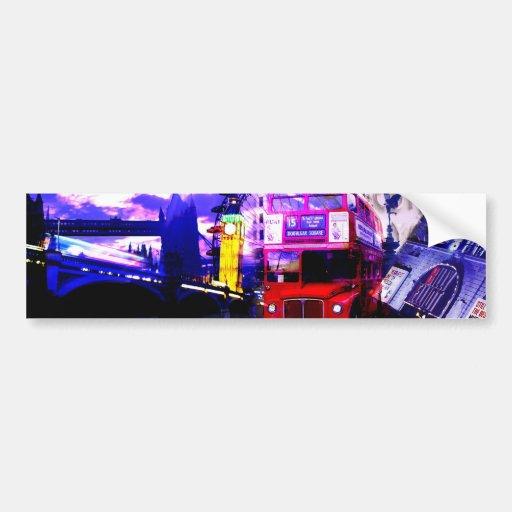London Bumper Stickers