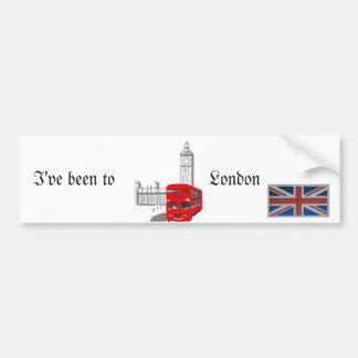 London Bumper Sticker. Bumper Sticker