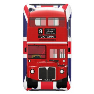 London Bus and Union Jack casemate_case