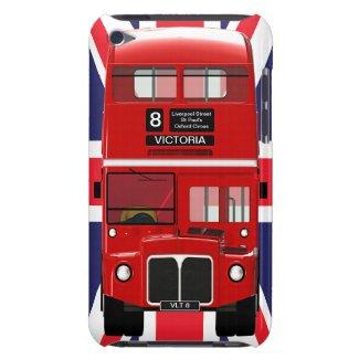 London Bus and Union Jack casemate_case