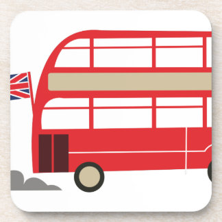 London Bus Beverage Coaster
