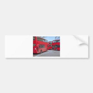 London Bus Bumper Stickers