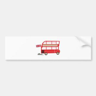 London Bus Car Bumper Sticker