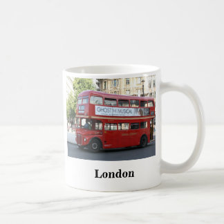 London bus coffee mug
