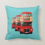 London Bus Cushion Pillows