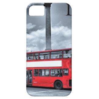 LONDON BUS in Black & White (St.K) iPhone SE/5/5s Case