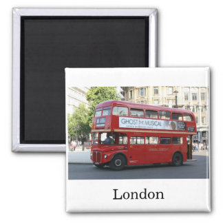 London bus magnet