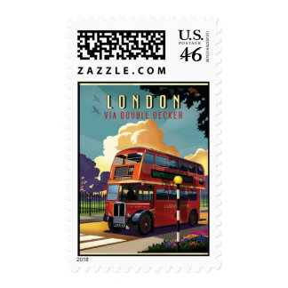 London Bus Stamps
