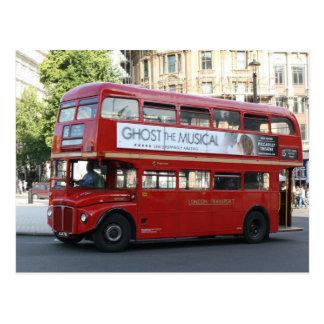 London bus postcard