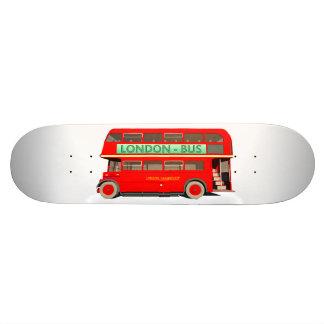 London Bus Skateboard Deck
