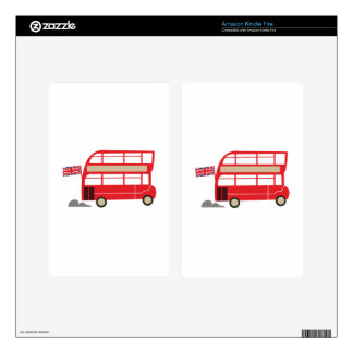 London Bus Skins For Kindle Fire