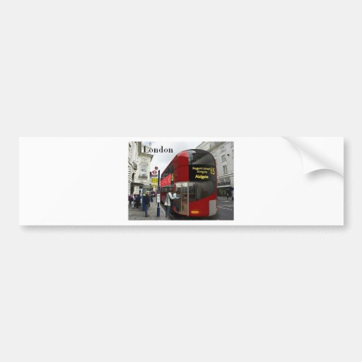 London bus (St.K) Bumper Stickers