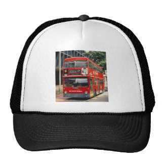 London Buses Daimler rests between duties at Eusto Mesh Hats