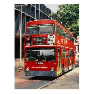 London Buses Daimler rests between duties at Eusto Postcard