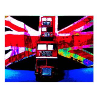 London buses postcard