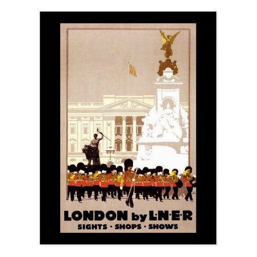 London by LNER Postcard