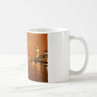 London by night coffee mug