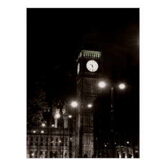 London By Night Poster