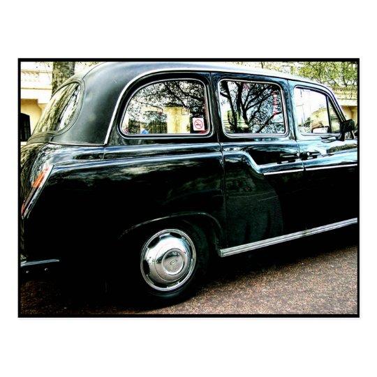 London Cab Postcard