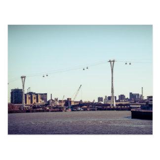 London Cable Car Postcard