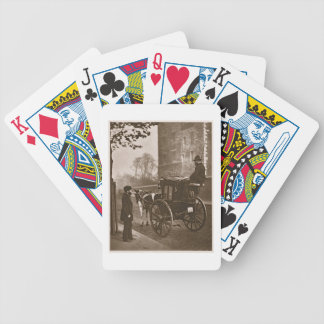 London Cabmen, from 'Street Life in London', 1877- Bicycle Playing Cards