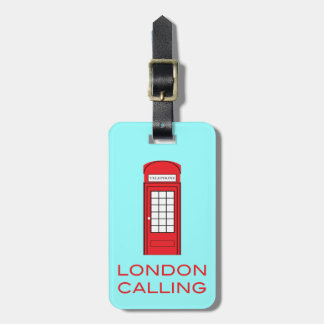 LONDON CALLING - Luggage Tag