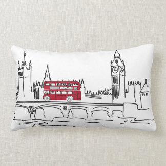 London calling pillow (can be personalized)
