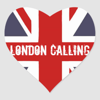 London Calling Stickers
