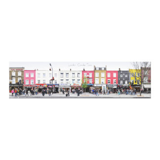 London Camden Town Market UK Canvas Print
