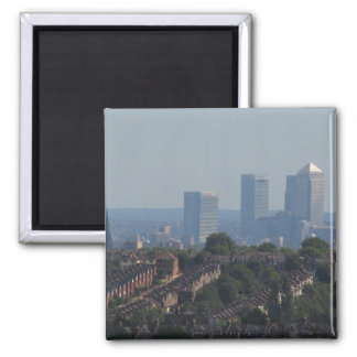 London Canary Wharf View Magnet