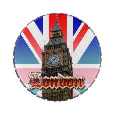 London Candy Tins