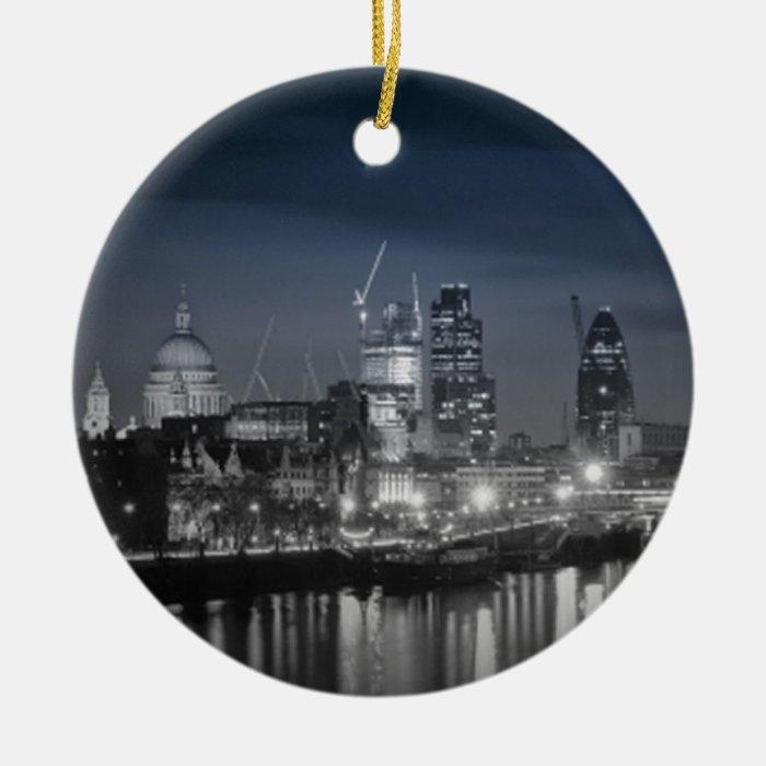 London Ceramic Ornament