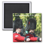 London Changing of the Guard 2 Inch Square Magnet