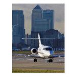 London city Airport Post Card