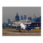 London city airport post cards
