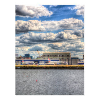 London City Airport Postcard