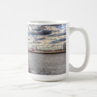 London City Airport Sculler Mugs