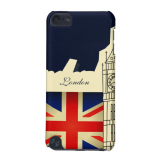 London City Big Ben Union Jack Flag iPod Touch 5 iPod Touch (5th Generation) Cover