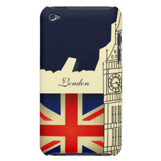London City Big Ben Union Jack Flag iPod Touch iPod Touch Covers