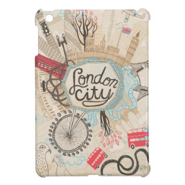London City Doodle Art Case For The iPad Mini