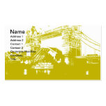 London City Poster Double-Sided Standard Business Cards (Pack Of 100)