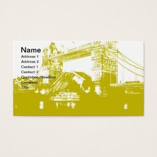 London City Poster Business Card