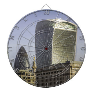 London City Skyline Dart Board