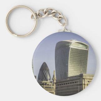 London City Skyline Keychain