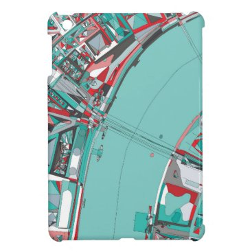 London City Structure Map Case For The iPad Mini