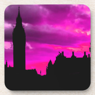 London City Sunset Coaster