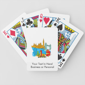 london city travel image.png bicycle playing cards