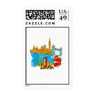 london city travel image png stamp