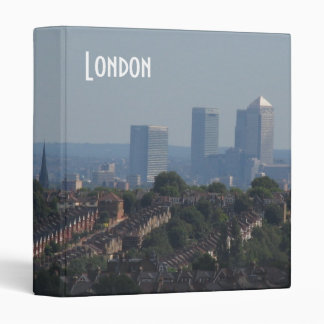 London Cityscape - Canary Wharf photo Binder